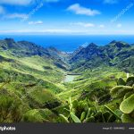 Anaga natural park landscape,Tenerife,Canary Islands